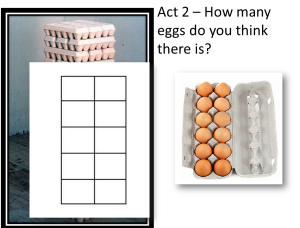 Ten Frame vs Egg Carton