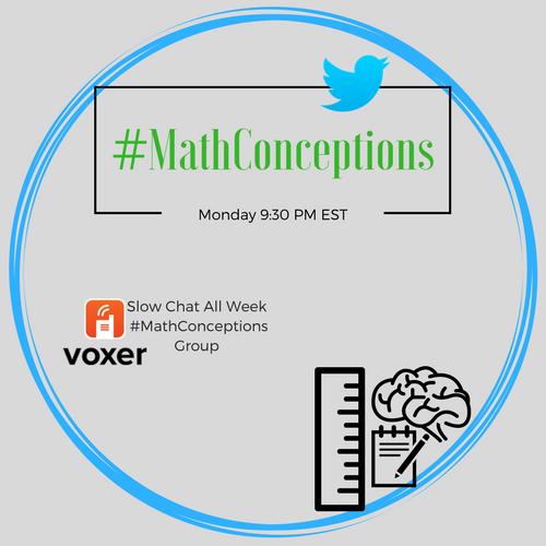 #MathConceptions v2